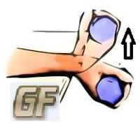 latihan otot lengan dengan up wrist curl