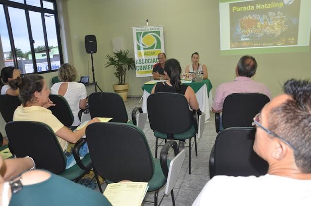 Comerciantes de Registro-SP querem mudanças na Parada Natalina