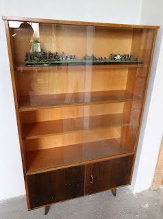 One of the display cabinets I saved