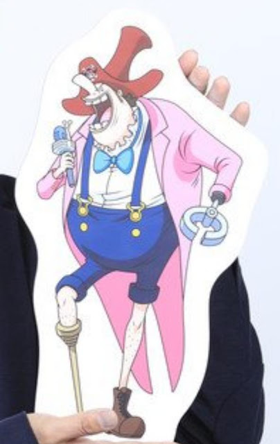 Donald Moderate' Character One Piece Film: Stampede Finally