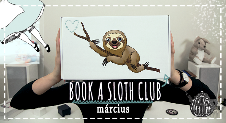 BOOK A SLOTH CLUB UNBOXING || MaRCIUSI ANGOL DOBOZ