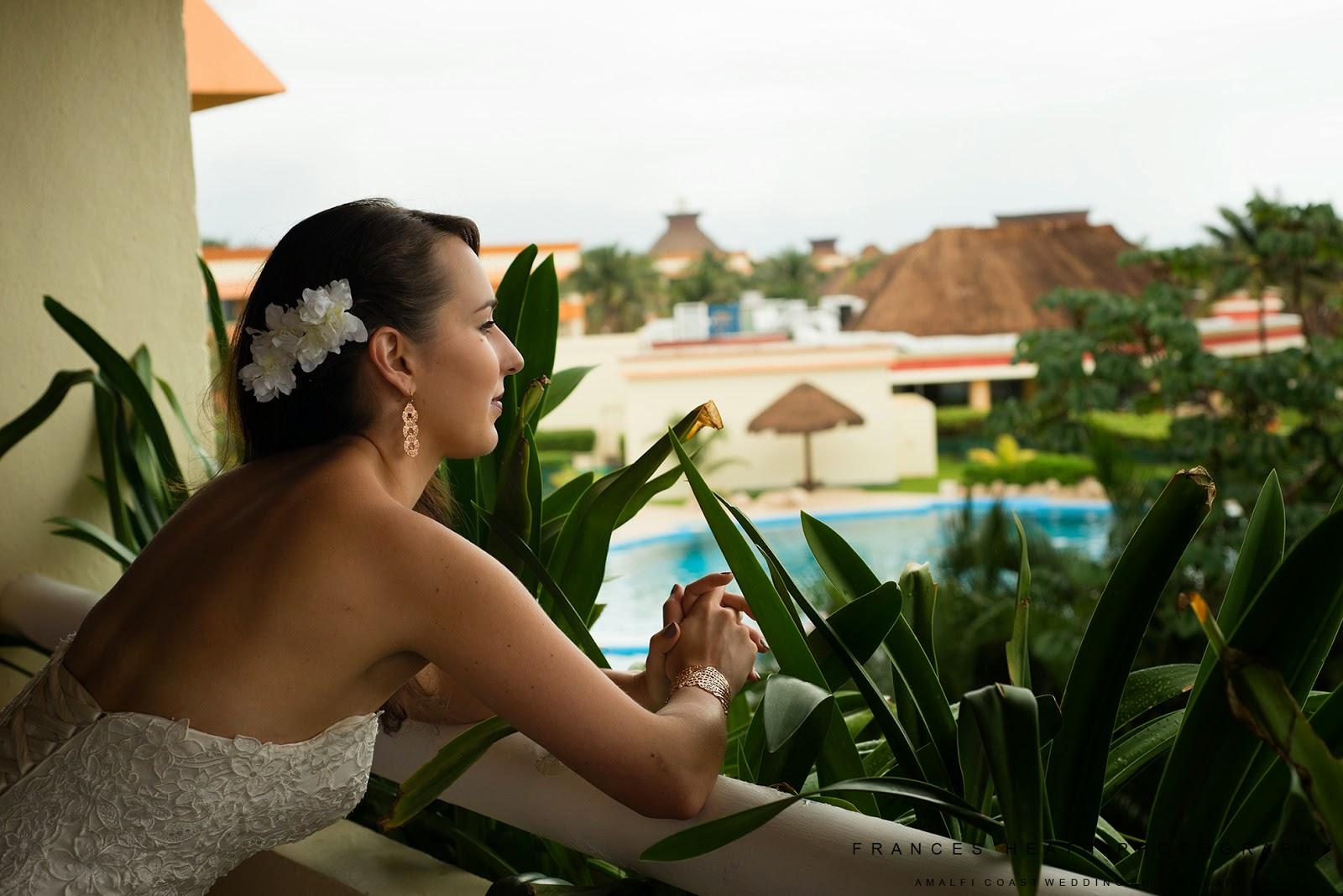 Bride portrait Grand Bahia Principe Tulum