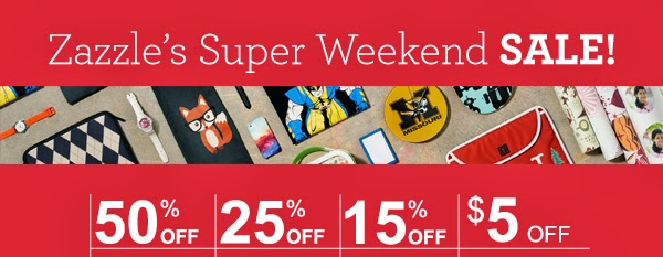 Zazzle Weekend Sale