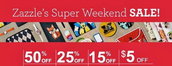 Zazzle Weekend Sale