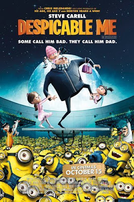 Despicable Me 2010 Dual Audio Hindi English 720p BluRay 850MB