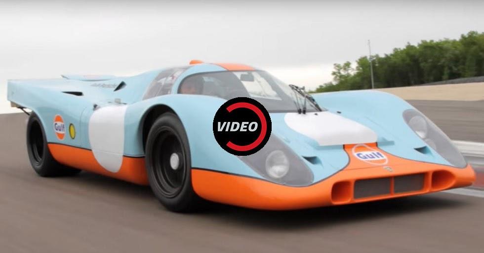 Nu Way Auto >> 1970 Porsche 917K From Steve McQueen's Le Mans Is Going Up ...