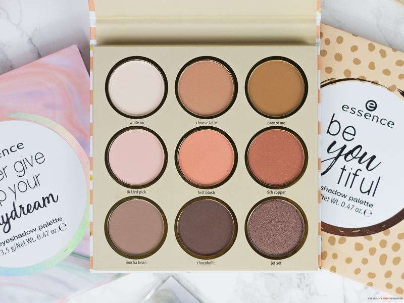 essence Update Herbst/Winter 2018 follow your heart eyeshadow palette Swatches