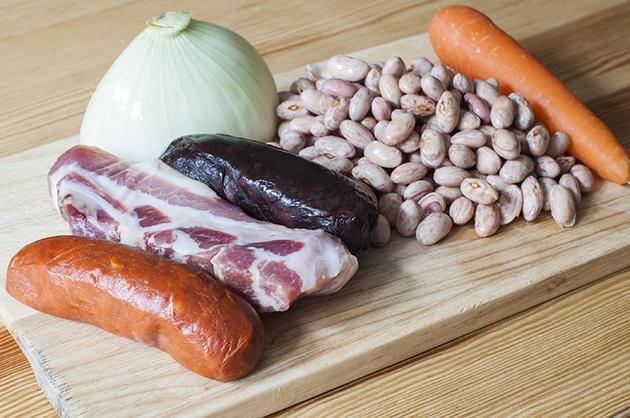fabada asturiana ingredientes