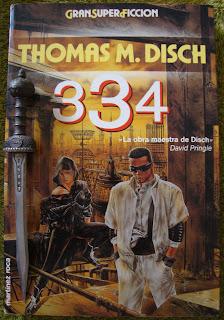 Portada del libro 334, de Thomas M. Disch