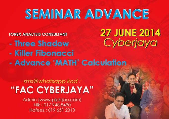 Seminar Forex Analysis Consultant Advance Cyberjaya