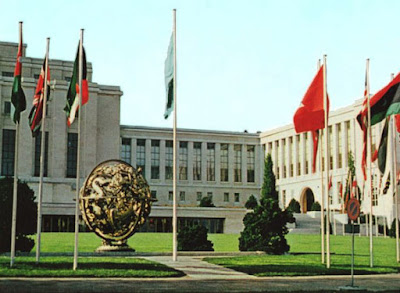 Gedung PBB di Jenewa negara Swis
