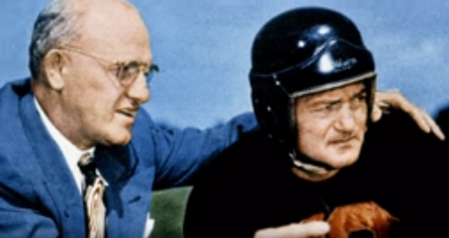 8 December 1940 worldwartwo.filminspector.com George Halas Sid Luckman