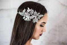 wedding ideas - wedding planning services - bridal headpiece - swarovski bridal headpiece - esty - Wedding blog by K'Mich - day of wedding planners in Philadelphia