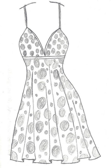 Steph Lew Art Blog!: September 2013 | Dibujos de moda ... |Pretty Clothes Drawings