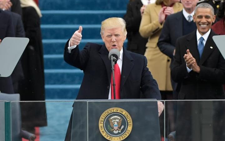 Read full Donald Trump inauguration speech