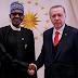 Nigerian president has reach agreement with the Turkey president to establish new schools and hospitals in Nigeria.