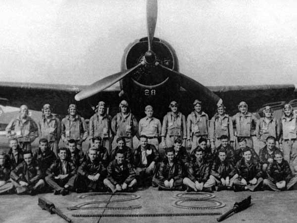 Torpedo Bomber # 28, pesawat utama Flight 19, yang lenyap pada 5 Desember 1945