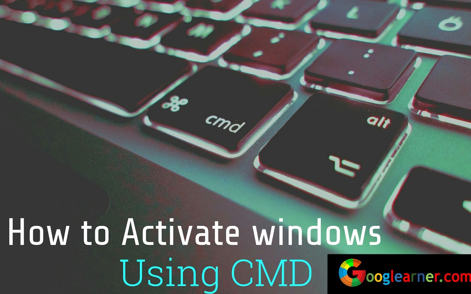 How to Activate Windows Using Command Prompt (Offline)