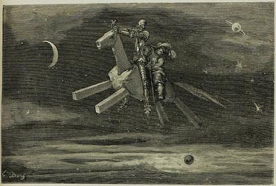 Don Quijote en el nuevo mundo I, Clavileño en América, Tomás Moreno