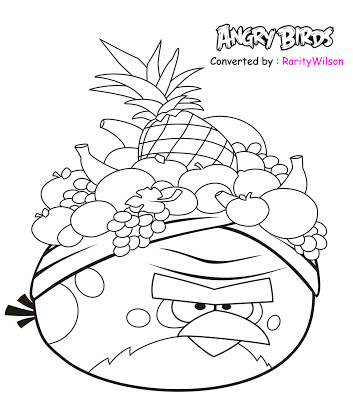 angry birds rio printable coloring pages - angry birds rio printable coloring pages