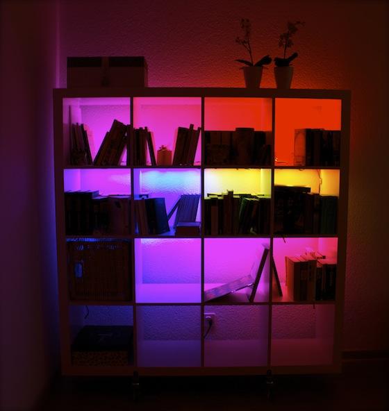 33 Ideias Para Transformar Sua Casa Normal Em: A Minha Alegre Casinha: Móveis Iluminados Com LEDs