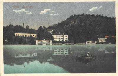 Hotel Louisenbad en 1910