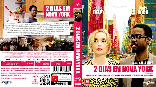 Capa Blu-ray 2 Dias em Nova York