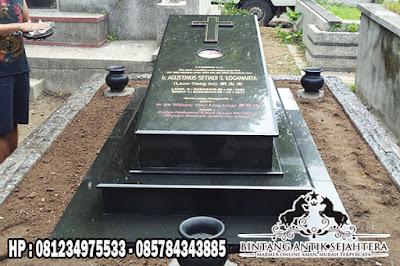 Makam Kristen Granit