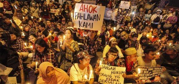 """Tokoh Tionghoa Sebut """"Lilin Pendukung Ahok"""" Telah Membakar Kebhinnekaan dan Picu Kebencian"""