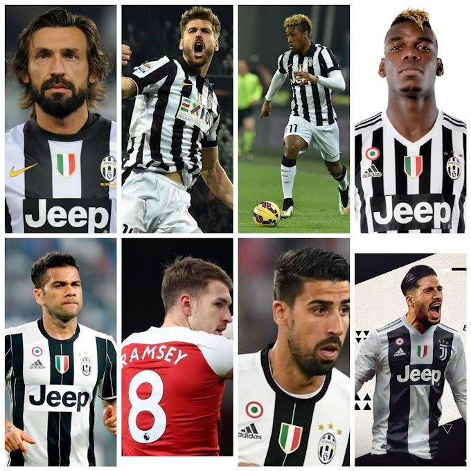 8 Pemain Bintang di Dapatkan Juventus Secara Gratis
