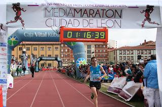 12 dias Media Maraton Leon 2018