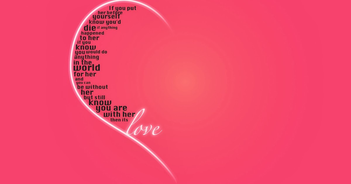 Solo Fondos De Pantalla San Valentin: Fondo De Pantalla Dia De San Valentin Love