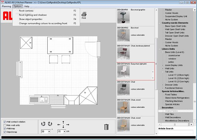 Free Design Software Alno Ag Kitchen Planner Freeware Catalogue
