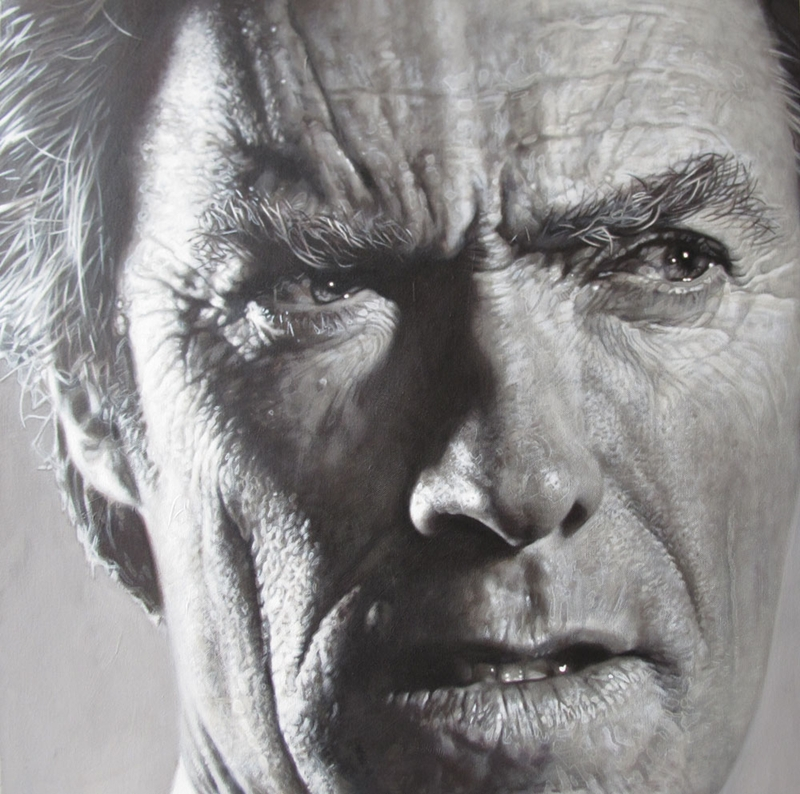 Clint Eastwood - New Pop Realism - Sebastian Krüger 1963