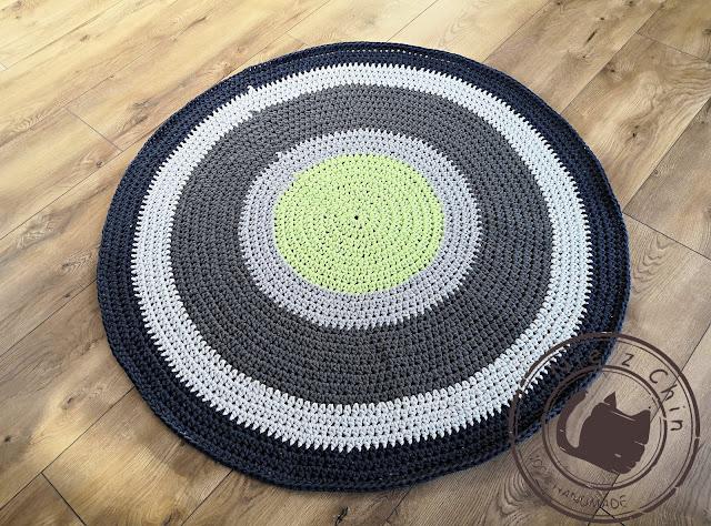 Mój pierwszy dywan ze sznurka