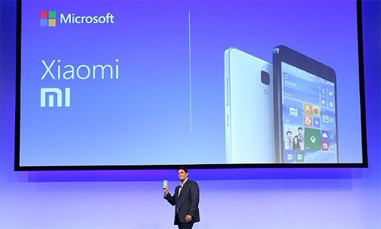 Parceria Xiaomi e Microsoft para compartilhamento de patentes