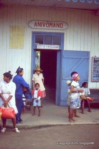 Madagascar, piccola stazione