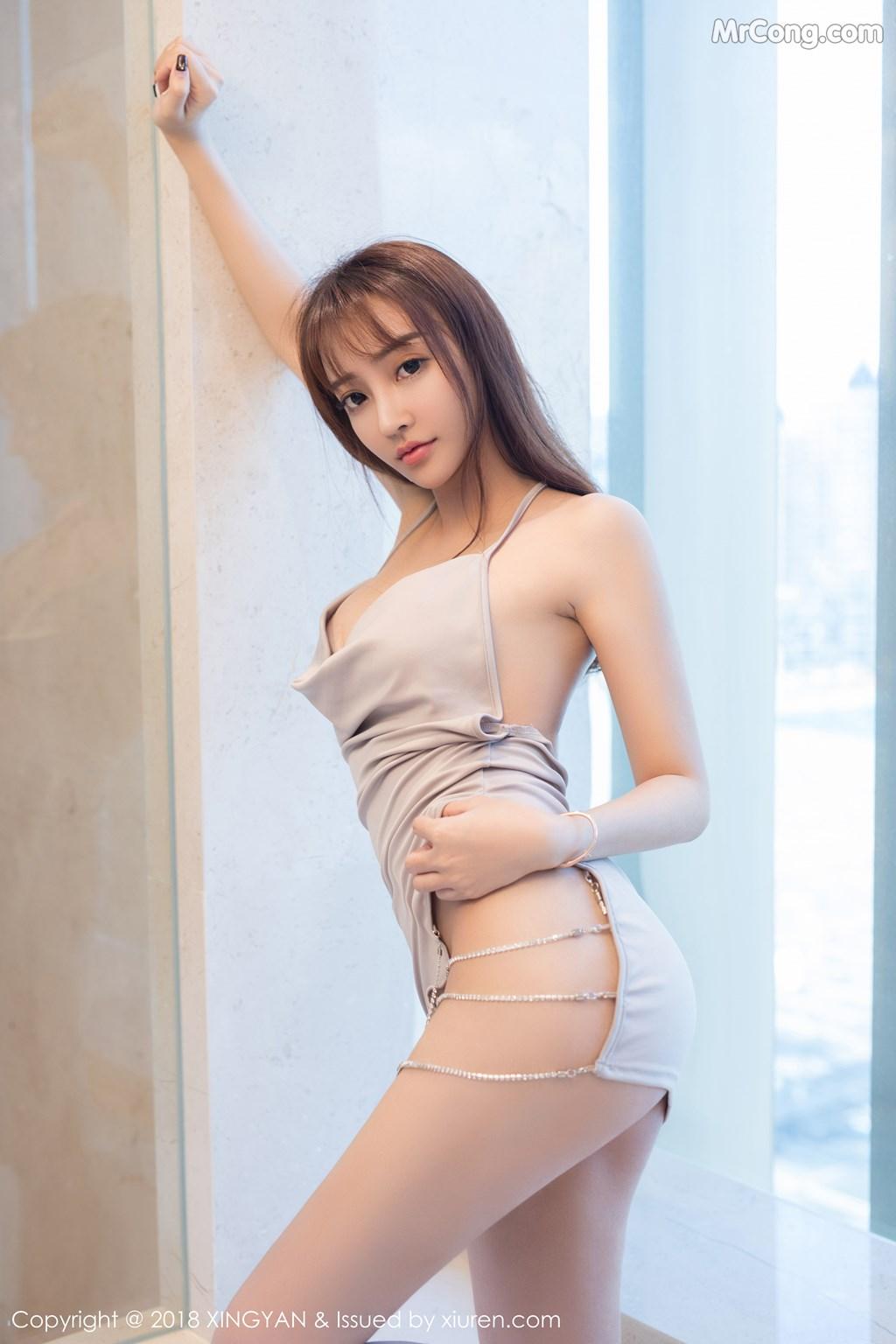 Image XingYan-Vol.090-Angel-MrCong.com-008 in post XingYan Vol.090: Người mẫu 安安Angel (41 ảnh)