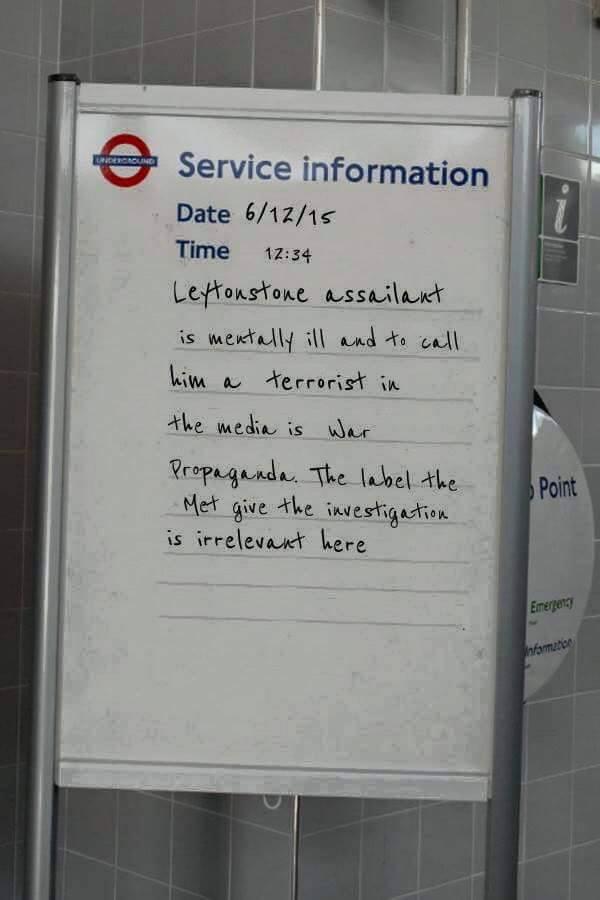 LONDON UNDERGROUND SERVICE ANNOUNCEMENTS #10  | Grumpy man