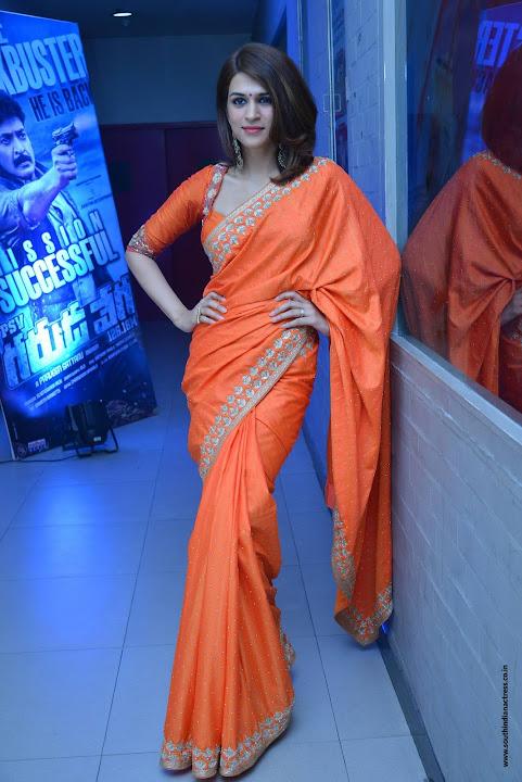 Shraddha Das at PSV Garuda Vega Success Meet