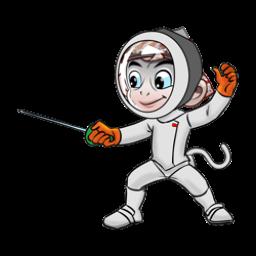 Logo dan Lambang Cabang Olahraga PON Jabar 2016 Anggar