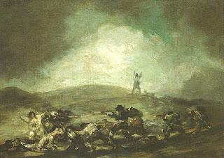 """""""Cena de Guerra"""", Francisco de Goya e Lucientes"""