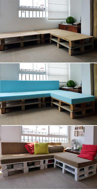 Wooden Pallets Creative Upcycling by Omar Cherif, One Lucky Soul