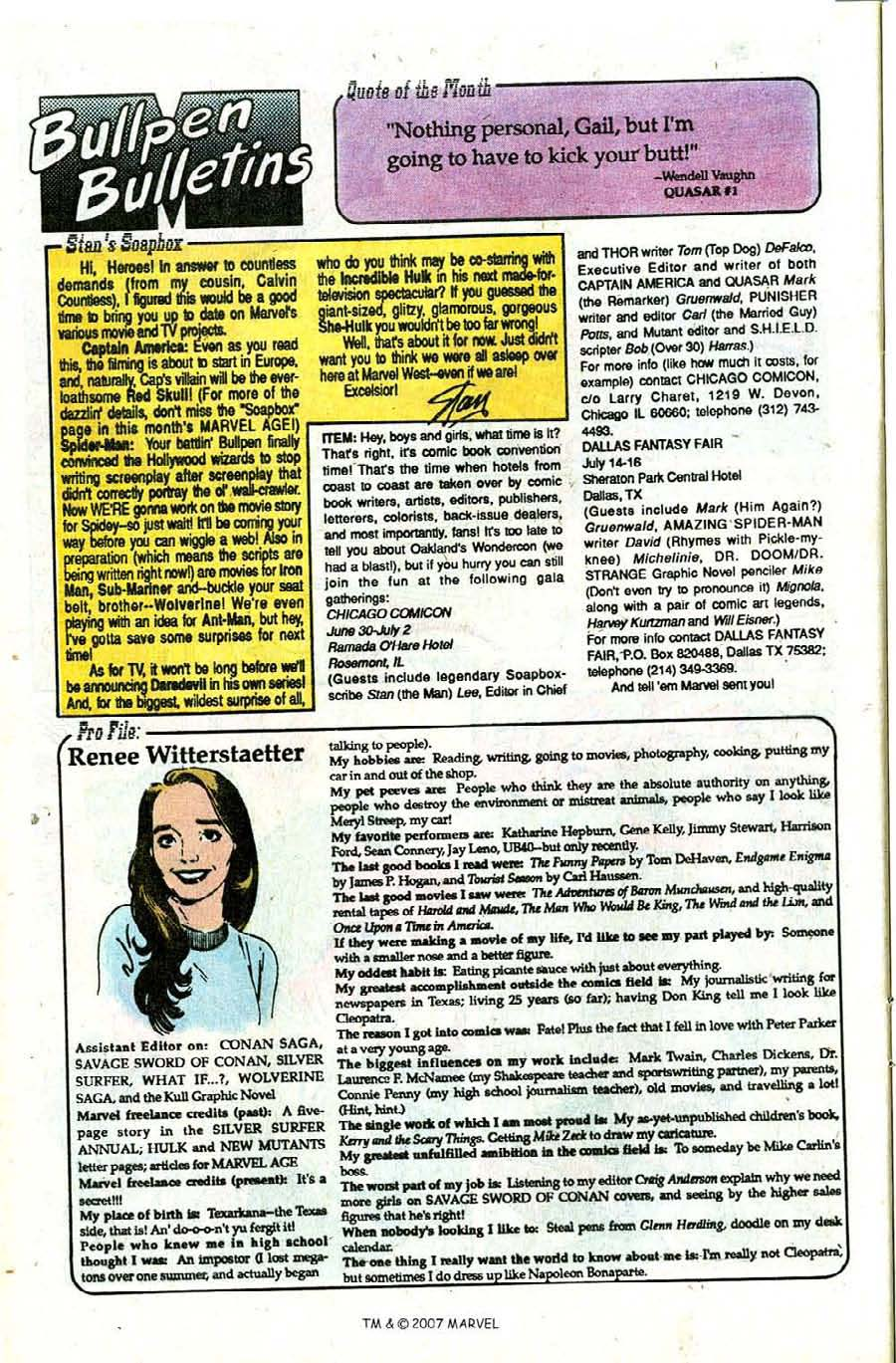 Read online Silver Surfer (1987) comic -  Issue #28 - 28
