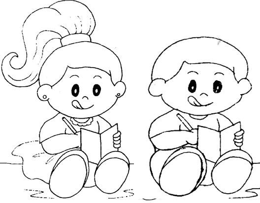 Imprimir Desenho Para Colorir De Crianças.