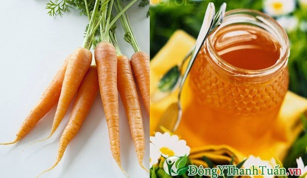Cách trị bệnh viêm họng bằng cà rốt