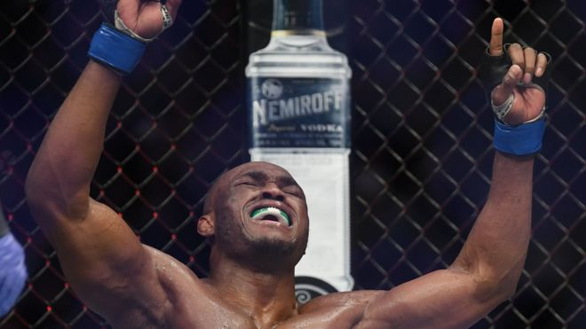UFC 235: Kamaru Usman becomes first African champion