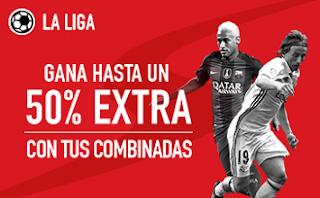 sportium La Liga: Extra en Combinadas 4-10 abril