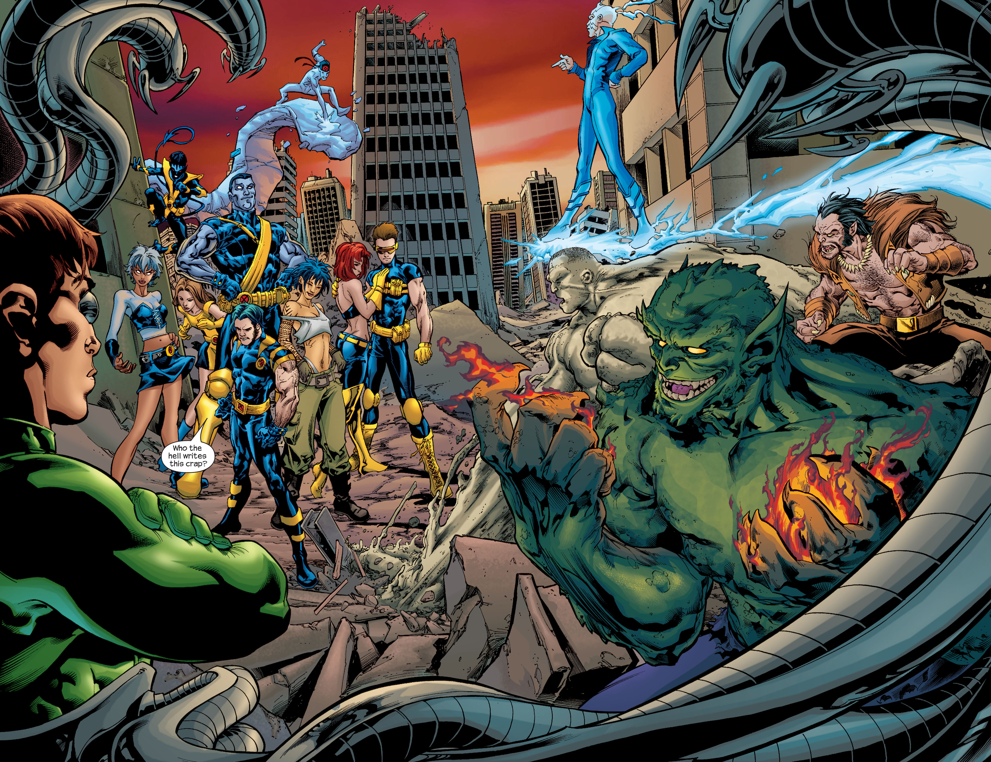 Read online Ultimate X-Men comic -  Issue # _Annual 1 - 3