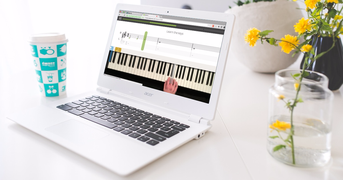 Skoove 無壓力線上學鋼琴,隨時聽你彈琴的虛擬家教